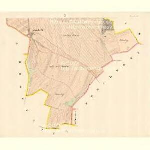 Žerawitz - m3652-1-002 - Kaiserpflichtexemplar der Landkarten des stabilen Katasters