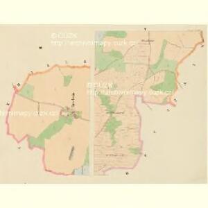 Dražowitz (Dražowice) - c1525-1-002 - Kaiserpflichtexemplar der Landkarten des stabilen Katasters