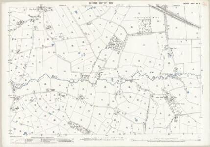 Cheshire VIII.16 (includes: Carrington; Dunham Massey; Partington; Warburton) - 25 Inch Map
