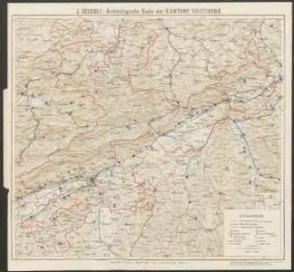 Archäologische Karte des Kantons Solothurn