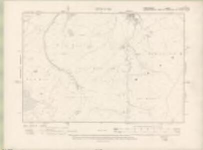 Peebles-shire Sheet VI.SE - OS 6 Inch map
