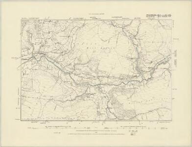 Merionethshire XXXVIII.NE - OS Six-Inch Map