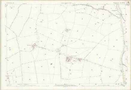 Huntingdonshire XVII.11 (includes: Alconbury; Barham and Woolley; Ellington; The Stukeleys) - 25 Inch Map