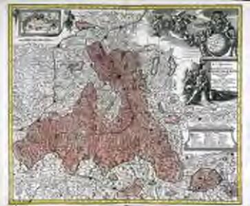 S. R. I. principat. et archiepiscopatus Salisburgensis mappa geographica