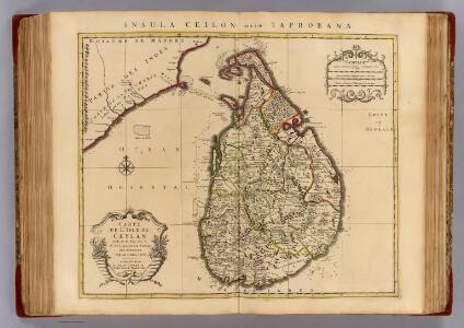 l'Isle de Ceylan.