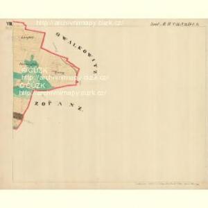 Piesling - m2287-1-009 - Kaiserpflichtexemplar der Landkarten des stabilen Katasters