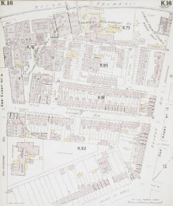 Insurance Plan of London South West District Vol. K: sheet 16