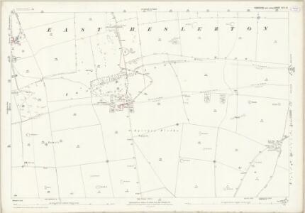 Yorkshire CVIII.16 (includes: Heslerton; Sherburn) - 25 Inch Map