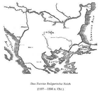 Das Zweite Bulgarische Reich (1087-1256 n. Chr.)