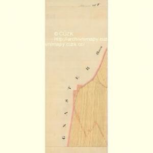 Mitzmanns - m1778-1-009 - Kaiserpflichtexemplar der Landkarten des stabilen Katasters