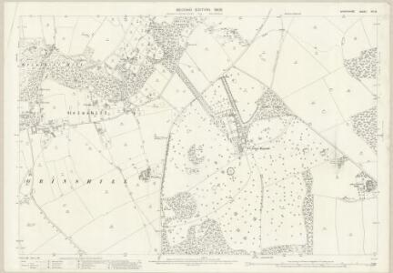 Shropshire XXI.16 (includes: Clive; Grinshill; Moreton Corbet; Shawbury) - 25 Inch Map