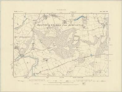 Shropshire XXII.SE - OS Six-Inch Map