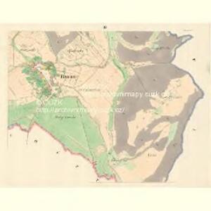 Braune (Wranowa) - m3471-1-004 - Kaiserpflichtexemplar der Landkarten des stabilen Katasters