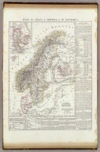 Regni di Svezia e Norvegia, e di Danimarca; Islanda.