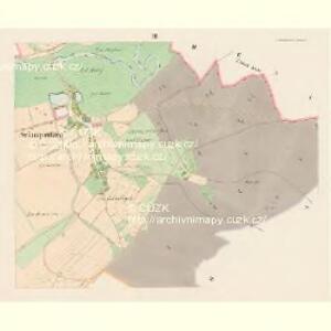 Schnapautzen (Ssnapoussow) - c7105-1-003 - Kaiserpflichtexemplar der Landkarten des stabilen Katasters