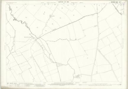 Wiltshire XVI.3 (includes: Ashbury; Bishopstone; Bourton) - 25 Inch Map