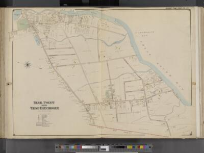 Suffolk County, V. 1, Double Page Plate No. 16 [Map bounded by Great South Bay, Town of Islip, South Country Rd.] / supplemented by careful measurements & field observations by our own Corps of Engineers.