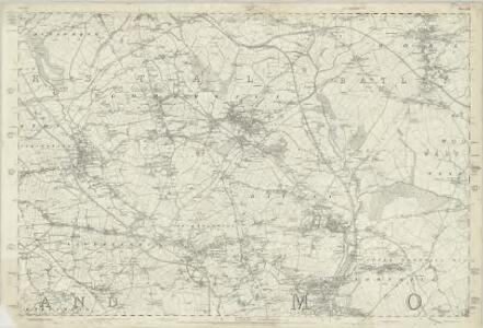 Yorkshire 232 - OS Six-Inch Map