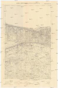 Carta topografica della Cirenaica