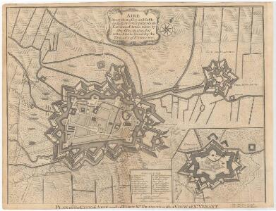 Air-Avery strong city and Castle inthe low countries, in the Earldom of Artois, taken by the Allies in 1710, but restord to the French by the treaty of Utrech.
