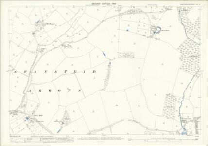 Hertfordshire XXX.14 (includes: Hunsdon; Stanstead Abbots) - 25 Inch Map