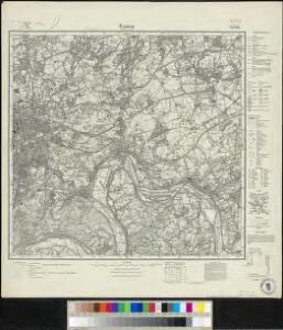 Messtischblatt 2576 : Essen im Rheinland, 1921 Essen im Rheinland