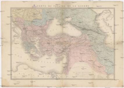 Carte du théatre de la guerre