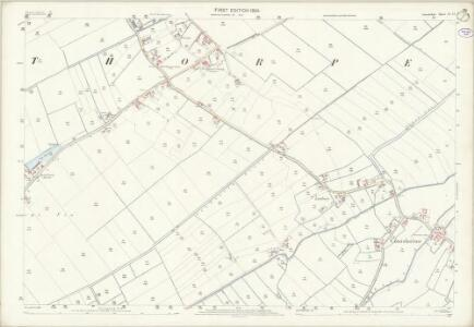 Lincolnshire XL.12 (includes: Conisholme; Grainthorpe) - 25 Inch Map
