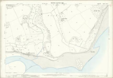 Hampshire and Isle of Wight LXXXI.12 (includes: Beaulieu; Exbury; Fawley) - 25 Inch Map