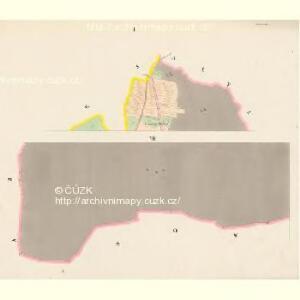 Brzillitz - c0612-1-001 - Kaiserpflichtexemplar der Landkarten des stabilen Katasters