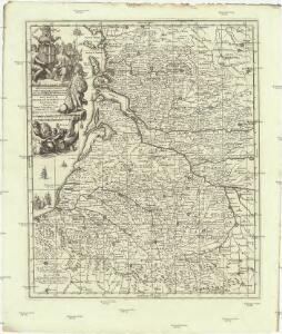 Novissimam hanc tabulam Aquitaniae et Vasconiae Guascogne et Guienne dictae provincias curiossissime representantem