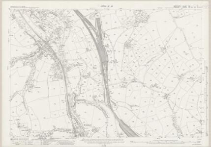 Derbyshire VIII.7 (includes: Chinley Bugsworth and Brownside; New Mills; Whaley Bridge) - 25 Inch Map
