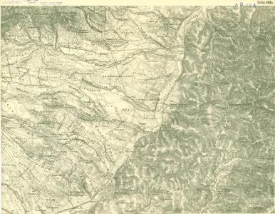 III. vojenské mapování 4365/1