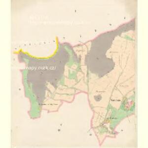 Wostrow - c7273-1-001 - Kaiserpflichtexemplar der Landkarten des stabilen Katasters