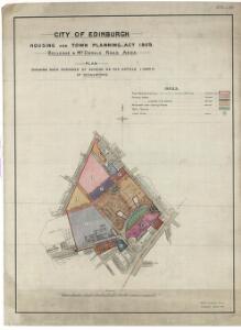 City of Edinburgh Housing and Town Planning, etc., Act 1909. Bellevue & McDonald Road Area.