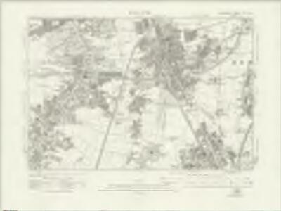 Lancashire CXI.NE - OS Six-Inch Map