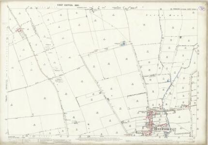 Yorkshire CCXXIV.2 (includes: Hotham; South Cliffe) - 25 Inch Map