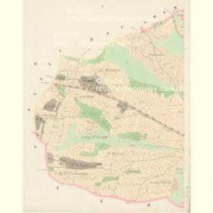 Hradeschitz (Hradessitz) - c2302-1-001 - Kaiserpflichtexemplar der Landkarten des stabilen Katasters