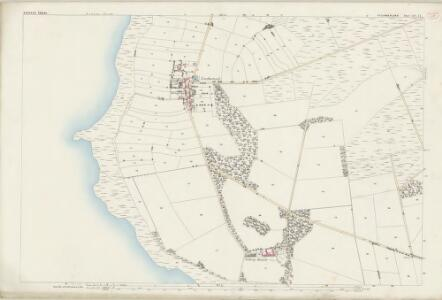 Cumberland XIV.14 (includes: Bowness) - 25 Inch Map