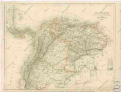 Die Staaten Neu - Granada, Ecuador und Venezuela