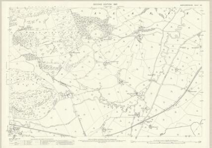 Montgomeryshire X.9 (includes: Llanfechain; Llanfyllin) - 25 Inch Map