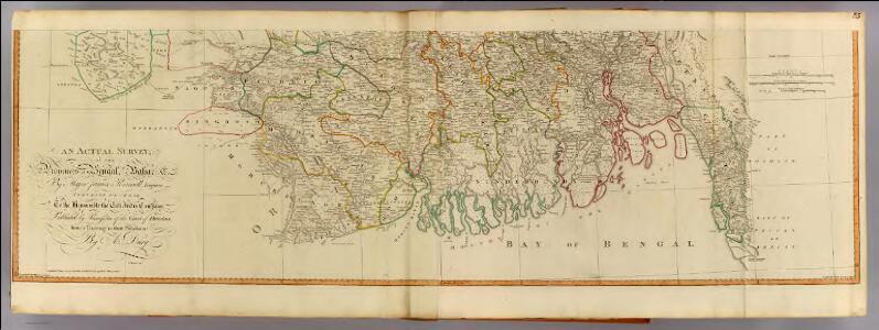 Bengal, Bahar &c. (south)