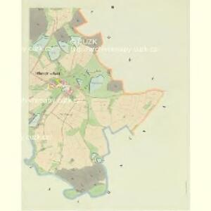 Ober Grischau - c2147-1-003 - Kaiserpflichtexemplar der Landkarten des stabilen Katasters