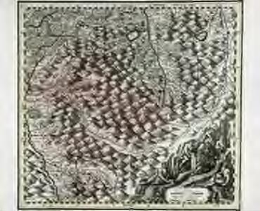 Suevia universa IX. tabulis delineata, 9