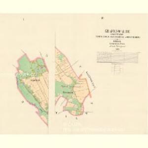 Grafenwalde - c7258-2-001 - Kaiserpflichtexemplar der Landkarten des stabilen Katasters