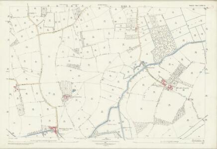 Somerset LXXII.15 (includes: Curry Rivel; Drayton) - 25 Inch Map