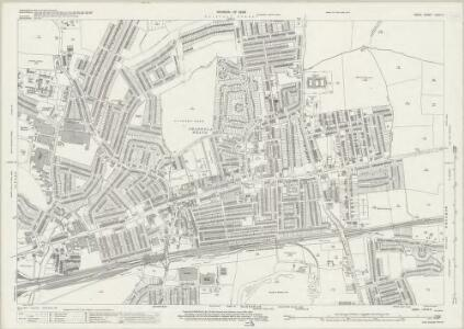 Essex (New Series 1913-) n LXXIX.9 (includes: Dagenham; Ilford; Romford) - 25 Inch Map