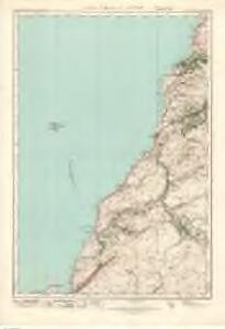 Ailsa Craig  & Girvan (82) - OS One-Inch map