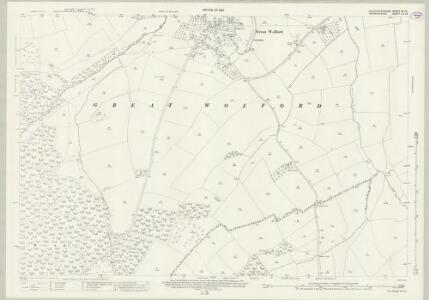 Gloucestershire XV.12 (includes: Barton on the Heath; Great Wolford; Little Wolford; Todenham) - 25 Inch Map
