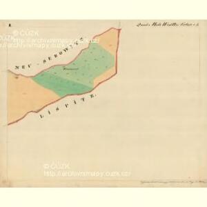 Cwalatitz - m0989-1-002 - Kaiserpflichtexemplar der Landkarten des stabilen Katasters